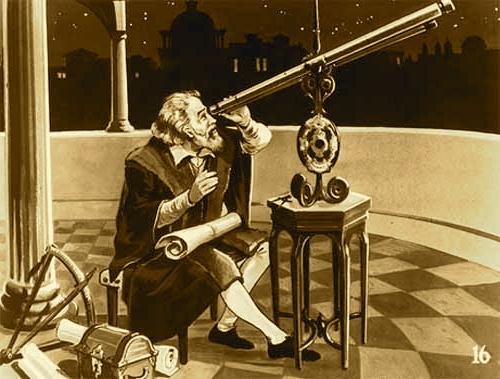 Galileo-looking-at-planets | The Starburst Foundation